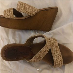 Sbicca Shoes - Sbicca Vintage Collection wooden wedges